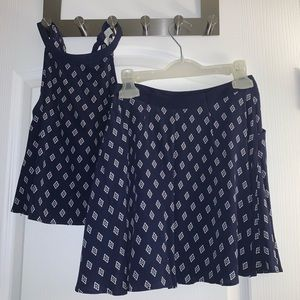Forever 21 2 piece skirt and tank top set